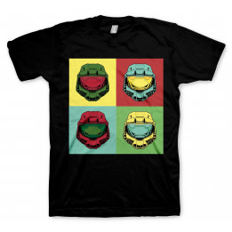 Coperta HALO MASTER CHIEF POP ART TSHIRT S