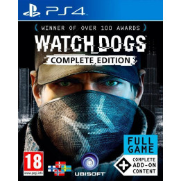 Coperta WATCH DOGS COMPLETE - PS4