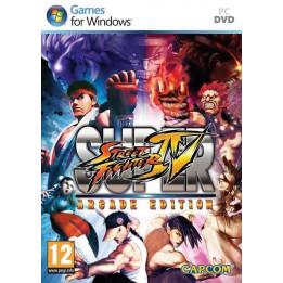Coperta SUPER STREET FIGHTER 4 ARCADE EDITION - PC