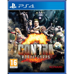 Coperta CONTRA ROGUE CORPS - PS4