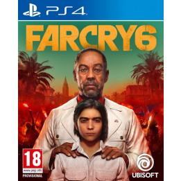 Coperta FAR CRY 6 - PS4