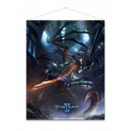 Coperta STARCRAFT KERRIGAN AND NOVA WALLSCROLL