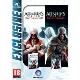 Coperta COMPILATION ASSASSINS CREED REVELATIONS & ASSASSINS CREED BROTHERHOOD - PC