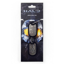 Coperta HALO 4 UNSC LOGO DOG TAGS