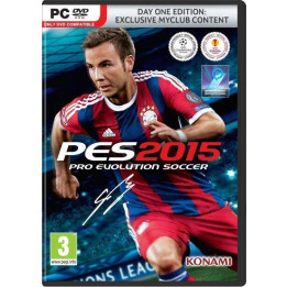 Coperta PRO EVOLUTION SOCCER 2015 D1 EDITION - PC