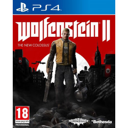 Coperta WOLFENSTEIN 2 THE NEW COLOSSUS - PS4