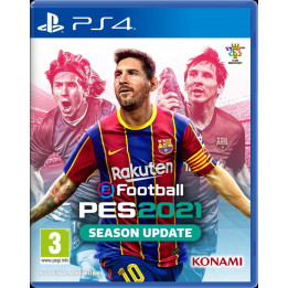 Coperta PRO EVOLUTION SOCCER 2021 (SEASON UPDATE) - PS4