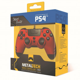 Coperta STEELPLAY - METALTECH - WIRED CONTROLLER - RUBY RED