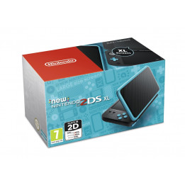 Coperta NINTENDO NEW 2DS XL CONSOLE BLACK & TURQUOISE - GDG