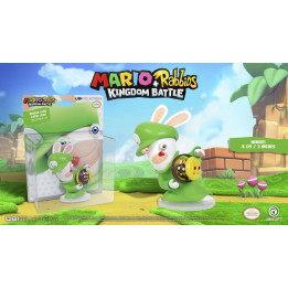 "MARIO + RABBIDS KINGDOM BATTLE RABBID LUIGI 3"" FIGURINE"
