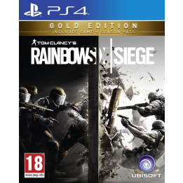 Coperta RAINBOW SIX SIEGE GOLD - PS4
