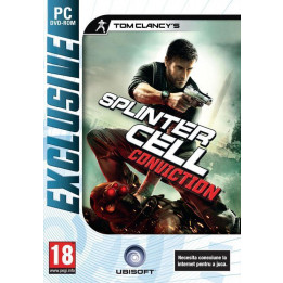 Coperta SPLINTER CELL CONVICTION EXCLUSIVE - PC