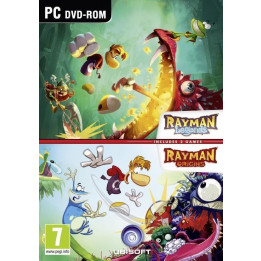 Coperta RAYMAN DOUBLE PACK - PC