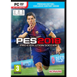 Coperta PRO EVOLUTION SOCCER 2018 PREMIUM EDITION - PC