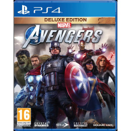 Coperta MARVELS AVENGERS DELUXE EDITION - PS4