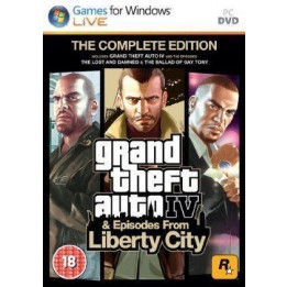 Coperta GRAND THEFT AUTO 4 COMPLETE EDITION - PC