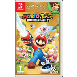 Coperta MARIO + RABBIDS KINGDOM BATTLE GOLD EDITION - SW