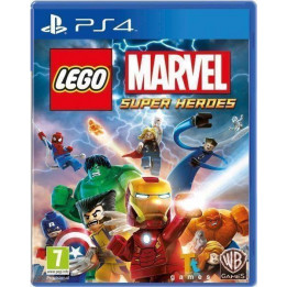 Coperta LEGO MARVEL SUPER HEROES - PS4