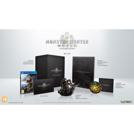 Coperta MONSTER HUNTER WORLD COLLECTORS EDITION - PS4
