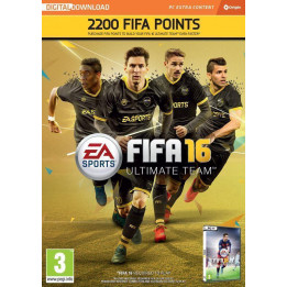 Coperta FIFA 16 2200 FUT POINTS (CODE IN A BOX) - PC