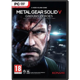 Coperta METAL GEAR SOLID 5 GROUND ZEROES - PC