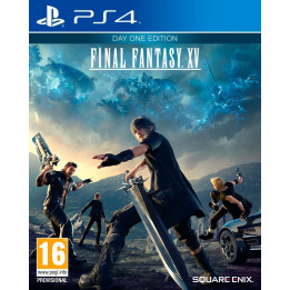 Coperta FINAL FANTASY XV D1 EDITION - PS4