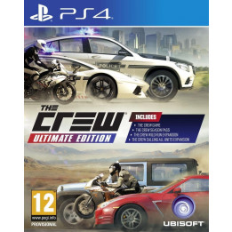 Coperta THE CREW ULTIMATE EDITION - PS4