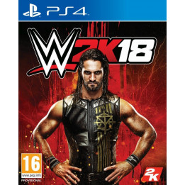 Coperta WWE 2K18 - PS4