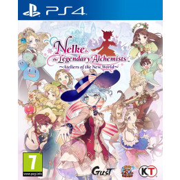 Coperta NELKE & THE LEGENDARY ALCHEMISTS ATELIERS OF THE NEW WORLD - PS4