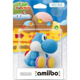 Coperta AMIIBO YARN YOSHI LIGHT BLUE