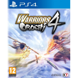 Coperta WARRIORS OROCHI 4 - PS4