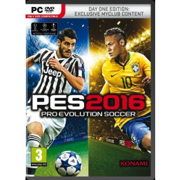Coperta PRO EVOLUTION SOCCER 2016 D1 EDITION - PC