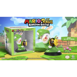 "Coperta MARIO + RABBIDS KINGDOM BATTLE RABBID LUIGI 6"" FIGURINE"