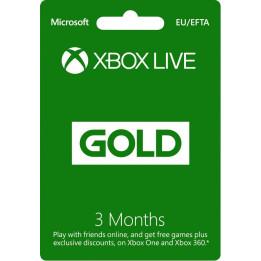 Coperta XBOX LIVE GOLD 3 MONTHS MEMBERSHIP - XBOX ONE (MICROSOFT CODE)