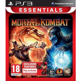 Coperta MORTAL KOMBAT ESSENTIALS - PS3