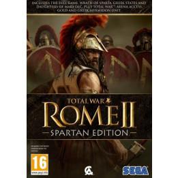 Coperta TOTAL WAR ROME 2 SPARTAN EDITION - PC