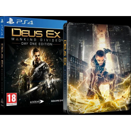 Coperta DEUS EX MANKIND DIVIDED STEELBOOK EDITION - PS4