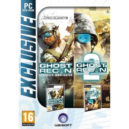 Coperta COMPILATION GHOST RECON ADVANCED WARFIGHTER 1 & 2 - PC