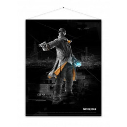 Coperta WATCH DOGS AIDEN PEARCE WALLSCROLL