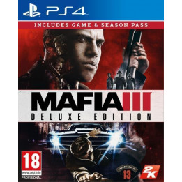 Coperta MAFIA 3 DELUXE EDITION - PS4