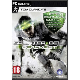 Coperta SPLINTER CELL BLACKLIST UPPER ECHELON EDITION - PC