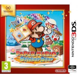 Coperta PAPER MARIO STICKER STAR SELECTS - 3DS