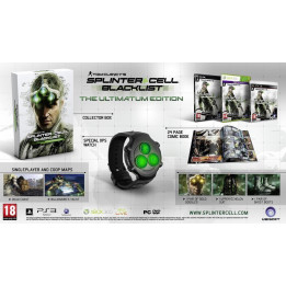 Coperta SPLINTER CELL BLACKLIST ULTIMATUM EDITION - PS3