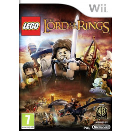 Coperta LEGO LORD OF THE RINGS - WII