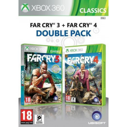 Coperta COMPILATION FAR CRY 3 & FAR CRY 4 - XBOX360