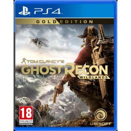 Coperta GHOST RECON WILDLANDS GOLD EDITION - PS4