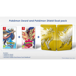 Coperta POKEMON SWORD & POKEMON SHIELD DUAL PACK - SW