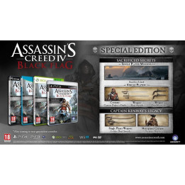 Coperta ASSASSINS CREED 4 BLACK FLAG D1 EDITION - WII U