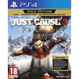 Coperta JUST CAUSE 3 GOLD EDITION - PS4