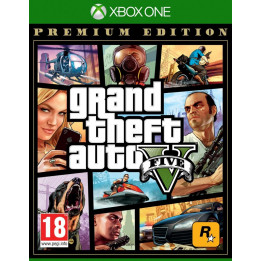 Coperta GRAND THEFT AUTO 5 PREMIUM EDITION - XBOX ONE